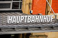 Bahnhofsgebäude Hauptbahnhof Kiel in Schleswig-Holstein