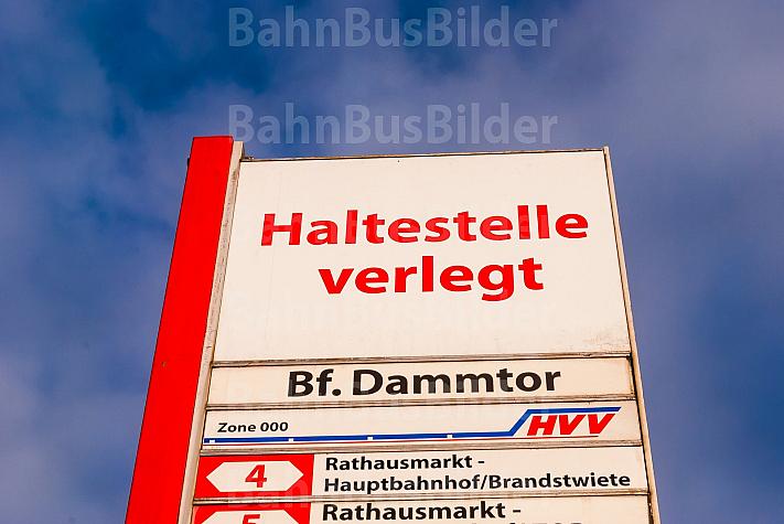 Bushaltestellenschild:
