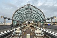 Der U-Bahnhof Elbbrücken in Hamburg