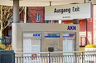 Fahrkartenautomat am Bahnhof Eidelstedt-Zentrum in Hamburg