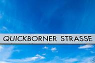 AKN-Haltestellenschild Quickborner Straße