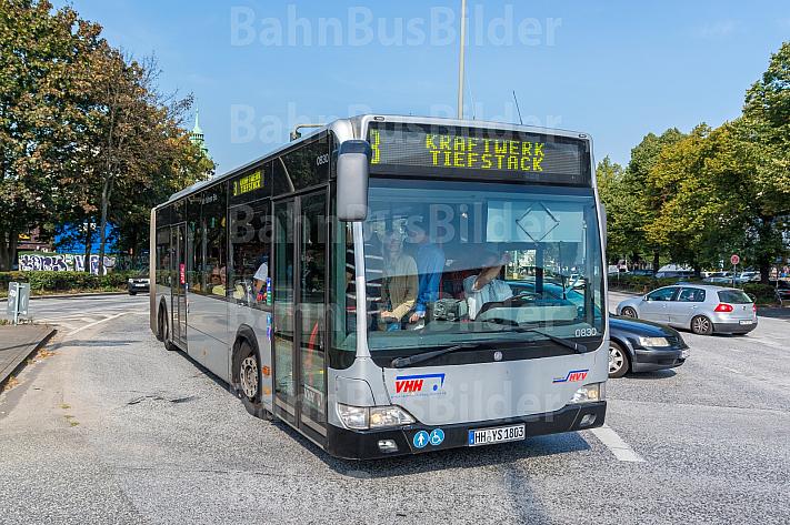 Metrobus der Linie M3 am Neuen Pferdemarkt in Hamburg