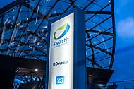 Eine Switschh-Station für Mietwagen am U-Bahnhof Elbbrücken im hamburger Hafen