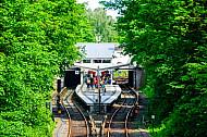 U-Bahnhof Borgweg an der U3 in Hamburg