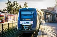 AKN-Triebwagen vom Typ LINT in Quickborn