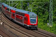 Regionalbahn nach Bargteheide am Berliner Tor in Hamburg