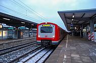 S-Bahn in Hamburg-Bergedorf