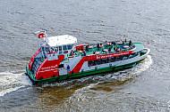 Hafenfähre Övelgönne in Hamburg