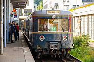 Historische S-Bahn in Hamburg-Blankenese