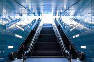 U-Bahnhaltestelle Überseequartier in der HafenCity in Hamburg