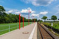 Bedarfshaltepunkt Bokholt (Linie A3) in Schleswig-Holstein