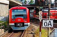 S-Bahn im Hamburger Hauptbahnhof