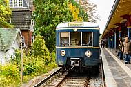 Historische S-Bahn in Hamburg-Othmarschen