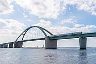 Dänischer IC3 auf der Fehmarnsundbrücke