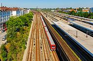 Bahnhof Altona in Hamburg: Tunneleinfahrt der S-Bahn