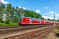 Regionalexpress (Hamburg - Lübeck) in Wandsbek
