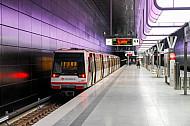 U-Bahnhof HafenCity Universität in Hamburg