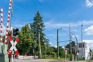 Bahnübergang Hammer Straße in Hamburg