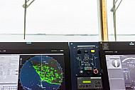 Blick von der Brücke der Scandlines-Fähre