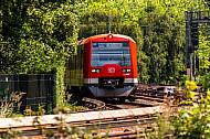 S-Bahn am Hauptbahnhof in Hamburg