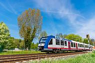 AKN-Triebwagen in Burgwedel