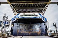 Bugtor der Eisenbahnfähre