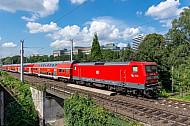 Regionalexpress (Hamburg - Lübeck) in Hasselbrook