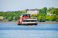 Hafenfähre Harburg in Hamburg