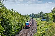 Regionalbahn auf Fehmarn
