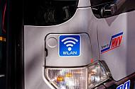 Bus in Hamburg mit Gratis-WLAN (Internet)