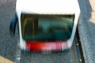 Bus in Hamburg (Bewegungsunschärfe)