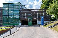 Park and Ride-Anlage am Bahnhof Rahlstedt in Hamburg