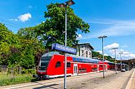 Regionalbahn im Bahnhof Hamburg-Wandsbek