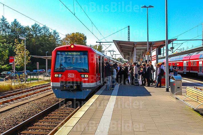 S4-Sonderfahrt in Ahrensburg