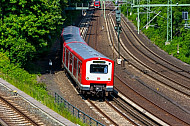 S-Bahn in Hamburg am Berliner Tor