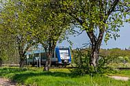 AKN-Triebwagen in Bönningstedt