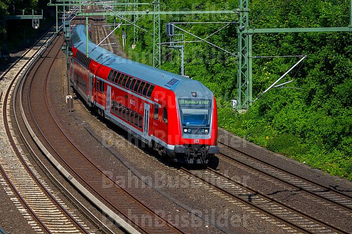 Regionalbahn am Berliner Tor in Hamburg