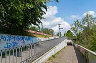 Treppenanlagen am S-Bahnhof Diebsteich in Hamburg
