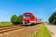 Zweisystem-S-Bahn bei Neu Wulmstorf