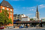 U-Bahn am Rödingsmarkt in Hamburg