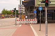 Plötzlich zuende: Radweg in Hamburg