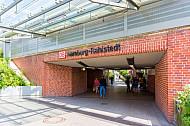 Fußgängertunnel am Bahnhof Hamburg-Rahlstedt