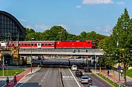 Regionalzug am Dammtor in Hamburg