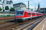 Regionalbahn nach Itzehoe im Hamburger Hauptbahnhof