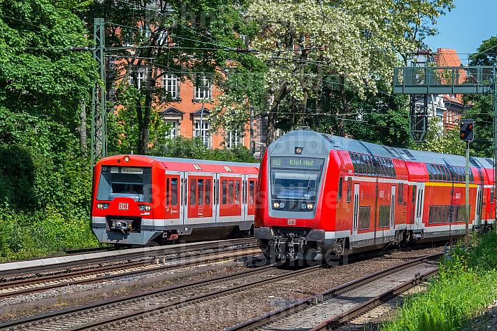 S-Bahn und Regionalexpress in Hamburg