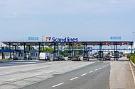 Ticketcounter am Fährhafen Puttgarden auf Fehmarn