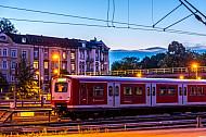 Abgestellte S-Bahn in Hamburg-Altona