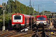 S-Bahn und AKN in Hamburg