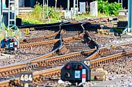 Gleise im Hamburger Hauptbahnhof