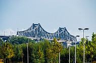 Rendsburger Hochbrücke in Schleswig-Holstein